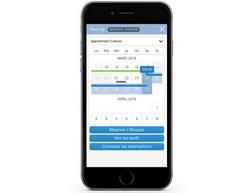 l'application Open Pro ouverte sur un smartphone