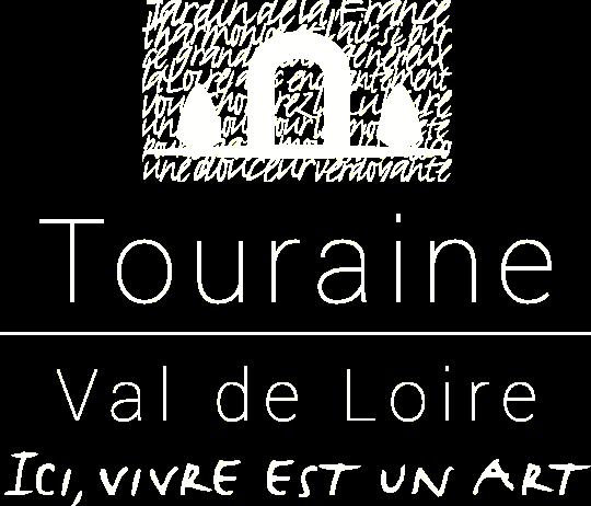 Logo de l'ADT Touraine, en blanc