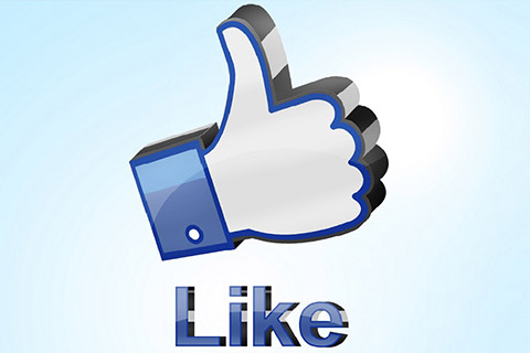 "Pictogramme ""Like"" de Facebook"